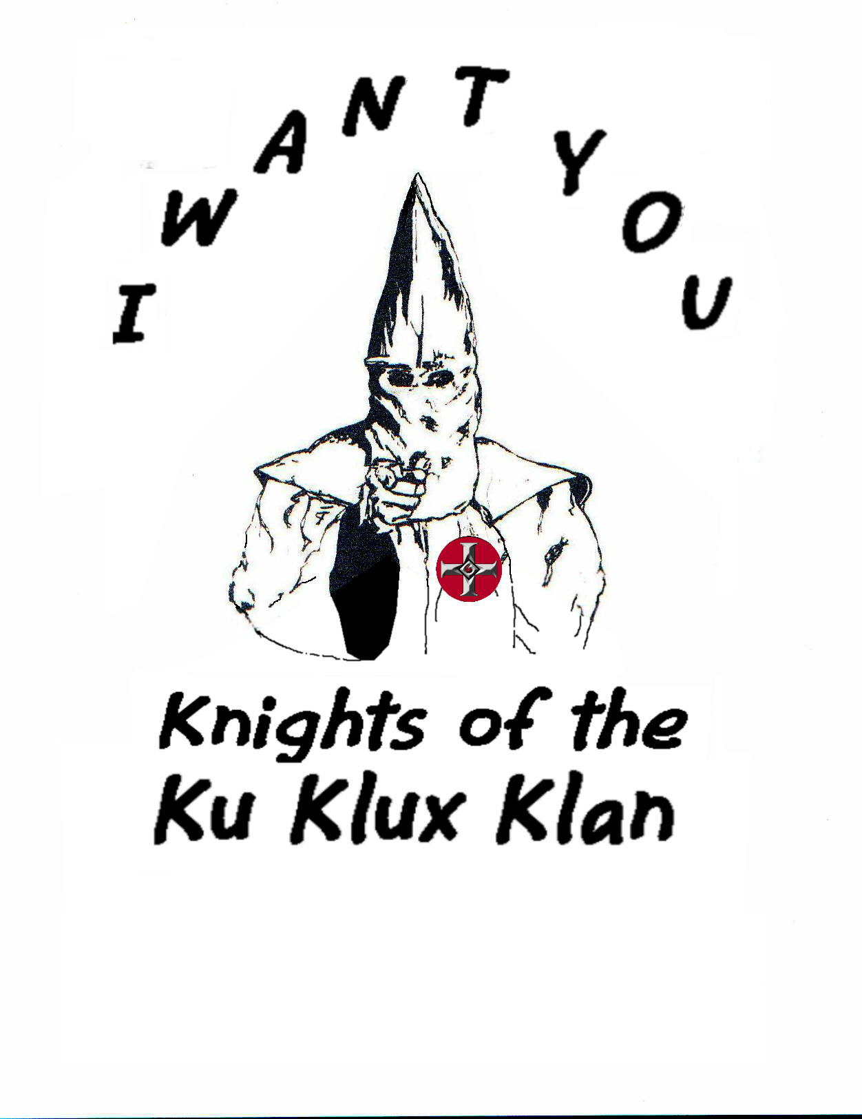 I want you! Knights of The KKK – Tshirt – American Heritage Store