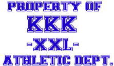 Property of The KKK Athletic Dept. - Tshirt