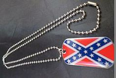 Rebel Dog Tag Necklace