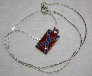 Rebel Flag Necklace