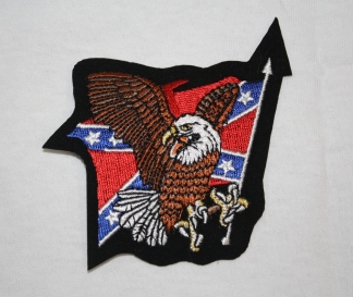 Rebel Eagle Flag Patch