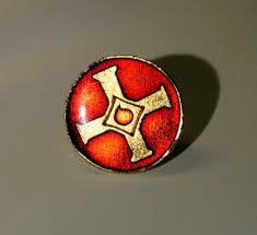 Cross / Blood Drop Pin