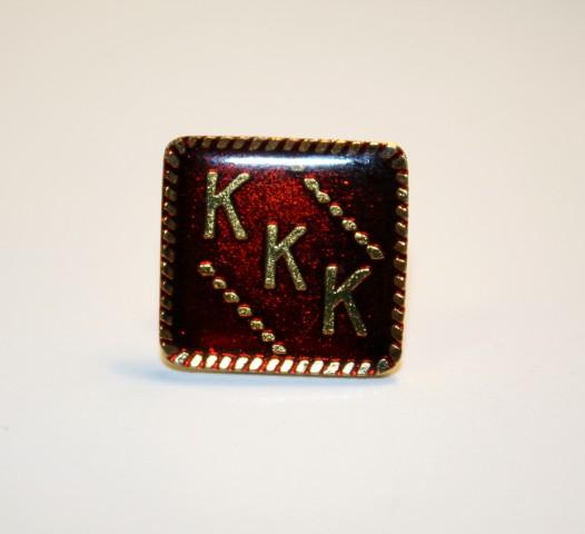 KKK (Square) Pin