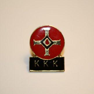 Blood Drop with KKK Below - Pin