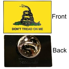 Don't Tread on Me - Pin