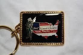 God, Guns, & Guts Keychain
