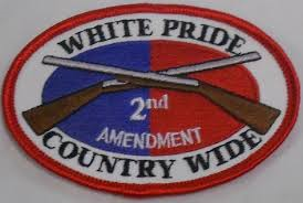 2nd Amendment - White Pride Country Wide - Patch