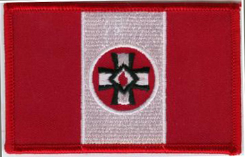 Blood Drop Flag - Patch