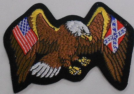 Eagle with Flags Patch