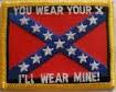 You Wear Your X - And I'll Wear Mine - Patch