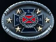 Southern Cross of Honor Belt Buckle