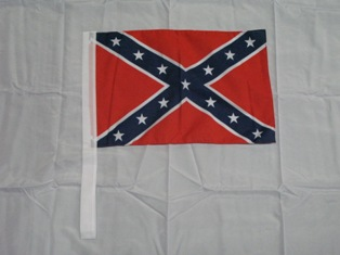 Rebel Antenna Flag