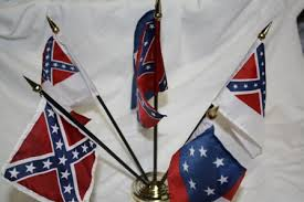 Flags of The Confederacy Desk Set