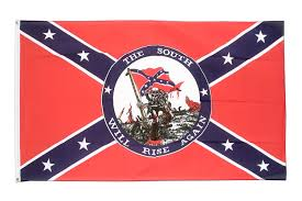 The South Will Rise Again / Confederate Flag