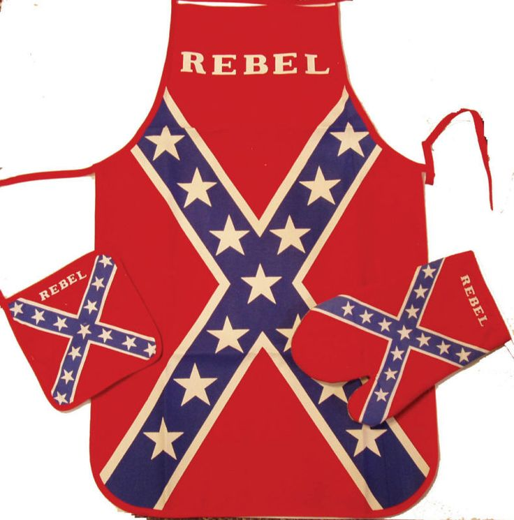 Confederate Flag Kitchen Set