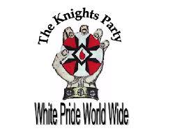 Knights of The Ku Klux Klan (Fist with Blood Drop) T-shirt