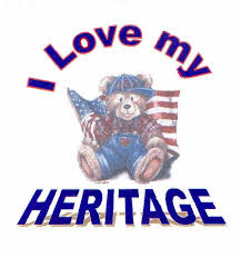 I Love my Heritage - Tshirt