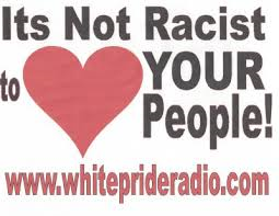 It's not Racist to Love your People - T-shirt