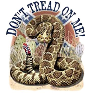 Don't Tread on Me (With Rattlesnake) - T-shirt