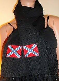 Black Scark with Rebel Flag