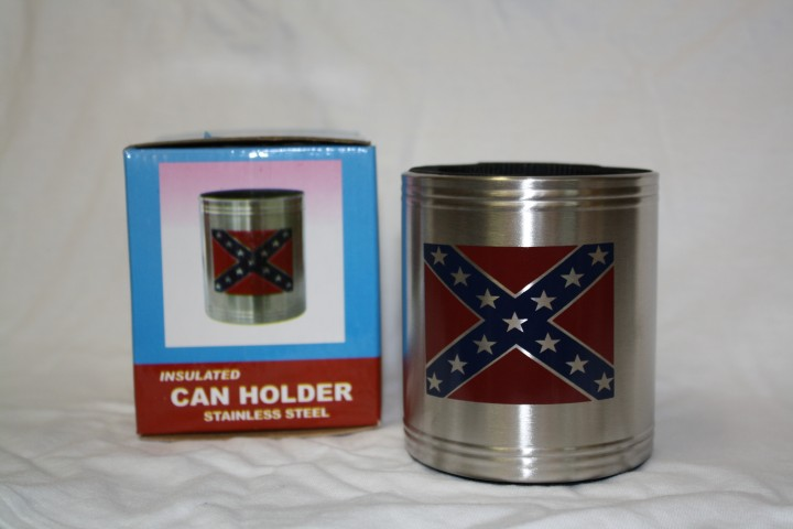 Stainless Steel Rebel Drink Koozie