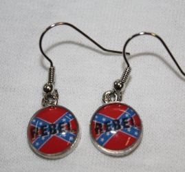 Rebel (Fish Hook) Earrings