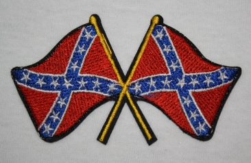 Rebel Flags Patch