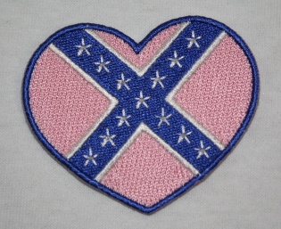 Pink Rebel Heart Patch