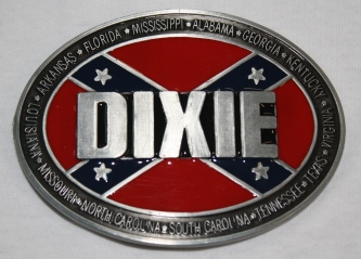 Dixie Rebel Belt Buckle
