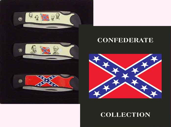3 Piece Confederate Knife Set