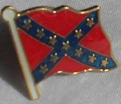 Rebel Flag Pin