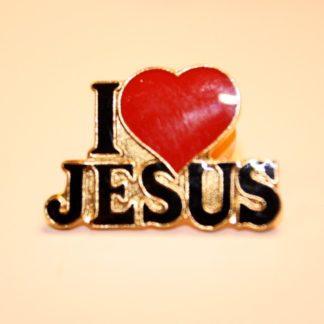 I Love Jesus - Pin