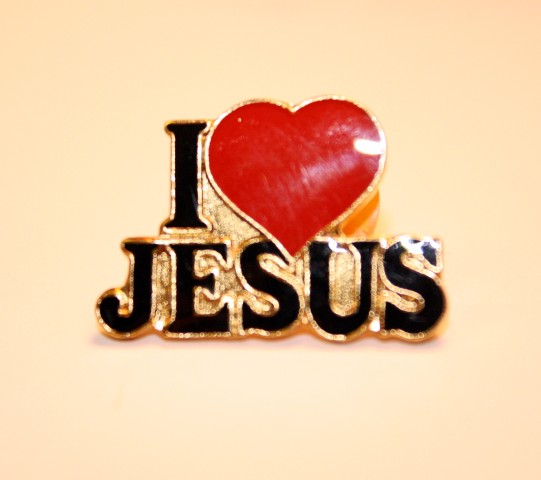 I Love Jesus - Pin