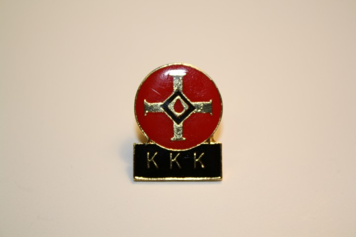 Blood Drop with KKK Below - Pin