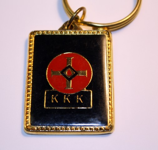 Blood Drop with KKK Below - Keychain