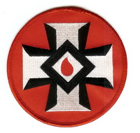 Blood Drop Patch (4 inch)