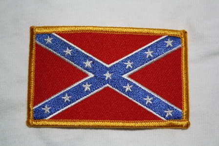 Confederate Flag Patch