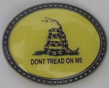 Don't Tread On Me - Belt Buckle