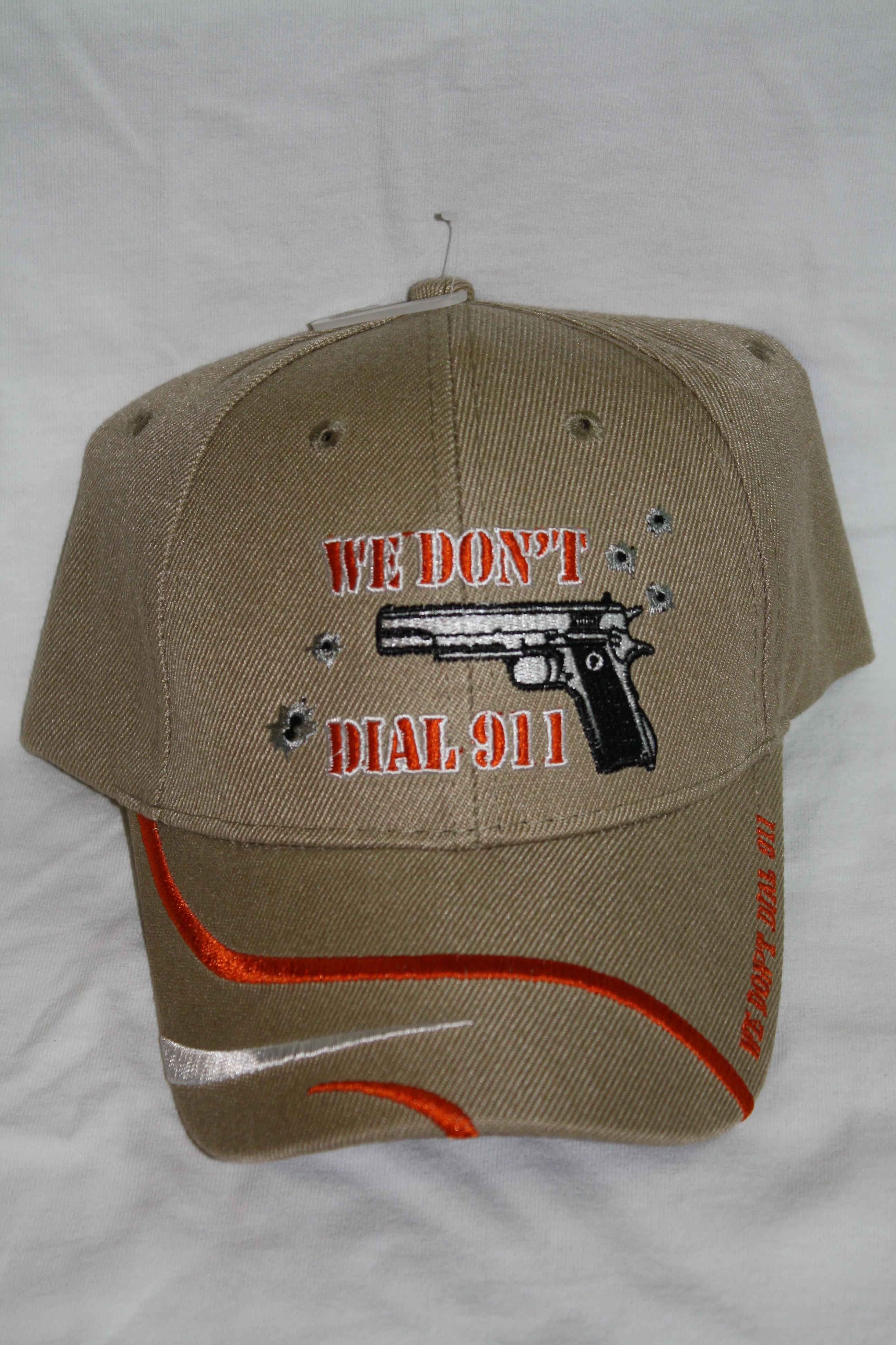 We Don't Dial 911 - Hat