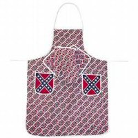 Confederate Flag Apron