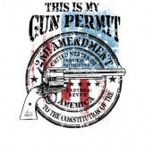 This is My Gun Permit - T-shirt