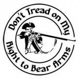 Don't Tread on My Right to Bear Arms - T-shirt