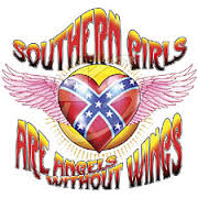 Southern Girls are Angels without Wings - T-shirt