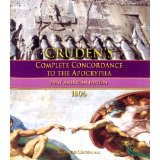 Cruden's Complete Concordance to The Apocrypha