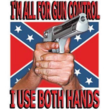 Výsledek obrázku pro gun control use both hands
